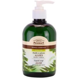 Green Pharmacy Hand Care Aloe jabón líquido  465 ml