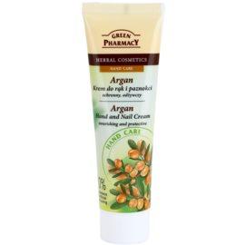 Green Pharmacy Hand Care Argan výživný a ochranný krém na ruce a nehty  100 ml
