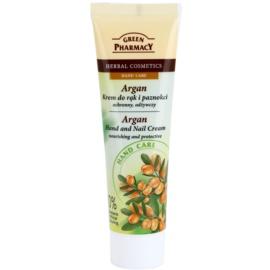 Green Pharmacy Hand Care Argan crema nutritiva y protectora para manos y uñas  100 ml