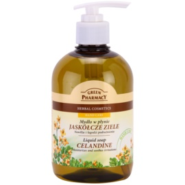 Green Pharmacy Hand Care Celandine sabonete líquido  465 ml