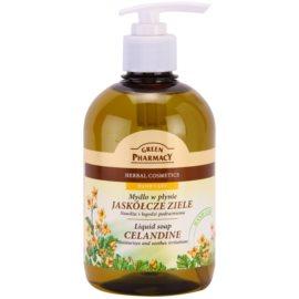 Green Pharmacy Hand Care Celandine tekuté mydlo  465 ml