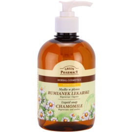 Green Pharmacy Hand Care Chamomile Flüssigseife  465 ml