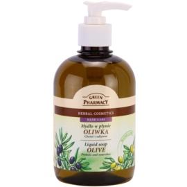 Green Pharmacy Hand Care Olive tekuté mydlo  465 ml