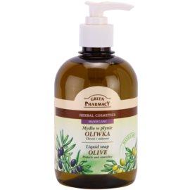 Green Pharmacy Hand Care Olive jabón líquido  465 ml