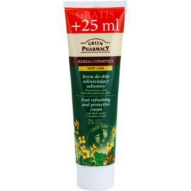 Green Pharmacy Foot Care crema protectora y refrescante para pies  100 ml