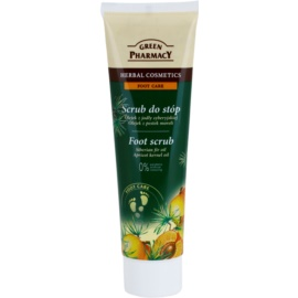 Green Pharmacy Foot Care exfoliant pentru talpile picioarelor  100 ml