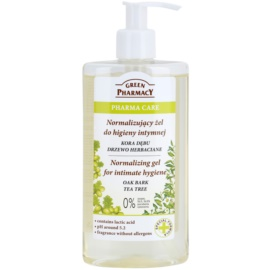 Green Pharmacy Pharma Care Oak Bark Tea Tree Gel für die intime Hygiene  300 ml
