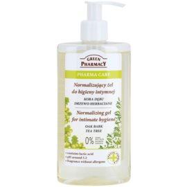 Green Pharmacy Pharma Care Oak Bark Tea Tree гель для інтимної гігієни  300 мл