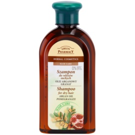 Green Pharmacy Hair Care Argan Oil & Pomegranate Shampoo für trockenes Haar  350 ml