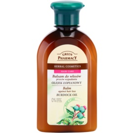 Green Pharmacy Hair Care Burdock Oil balzám proti padání vlasů  300 ml