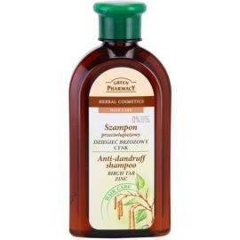 Green Pharmacy Hair Care Birch Tar & Zinc sampon anti-matreata  350 ml