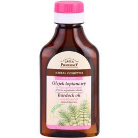 Green Pharmacy Hair Care Horsetail lopuchový olej proti padání vlasů  100 ml