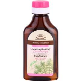 Green Pharmacy Hair Care Horsetail aceite de bardana anticaída del cabello  100 ml