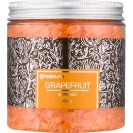Greenum Grapefruit Badesalz  600 g