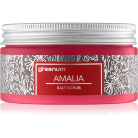 Greenum Salt Scrub solni piling za telo z vonjem Amalia 320 g