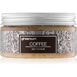Greenum Salt Scrub solni piling za telo z vonjem Coffee 320 g