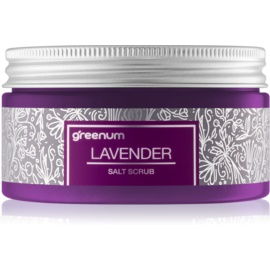 Greenum Salt Scrub solni piling za telo z vonjem Lavender 320 g