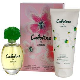Gres Cabotine darilni set II. toaletna voda 100 ml + losjon za telo 200 ml