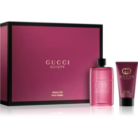 Gucci Guilty Absolute Pour Femme darilni set II.  parfum 50 ml + losjon za telo 50 ml