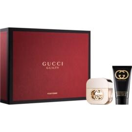 Gucci Guilty подарунковий набір ІІ  Туалетна вода 30 ml + Молочко для тіла 50 ml