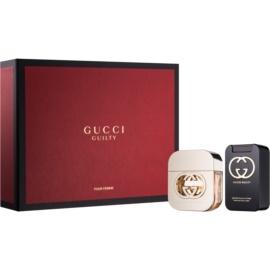 Gucci Guilty подарунковий набір IV  Туалетна вода 50 ml + Молочко для тіла 100 ml