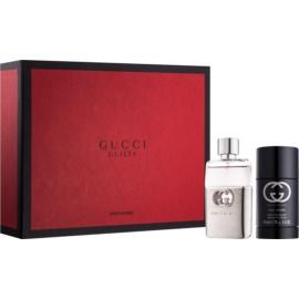 Gucci Guilty Pour Homme dárková sada XI.  toaletní voda 50 ml + deostick 75 ml