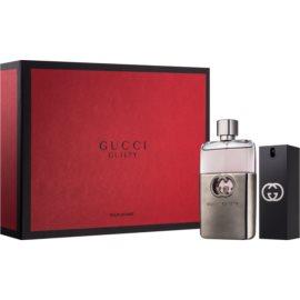 Gucci Guilty Pour Homme ajándékszett I. Eau de Toilette 90 ml + Eau de Toilette 30 ml
