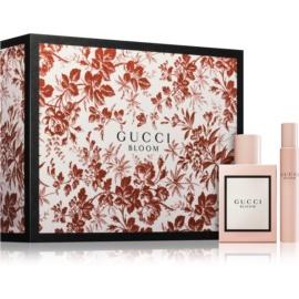 Gucci Bloom dárková sada II.  parfémovaná voda 50 ml + parfémovaná voda roll-on 7,4 ml