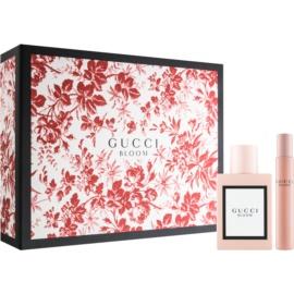 Gucci Bloom zestaw upominkowy II.  woda perfumowana 50 ml + woda perfumowana roll-on 7,4 ml