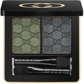 Gucci Eyes duo oční stíny odstín 080 Malachite  2,6 g
