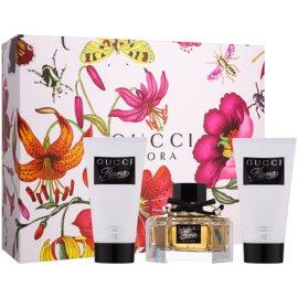 Gucci Flora by Gucci ajándékszett I.  Eau de Parfum 50 ml + testápoló tej 2 x 50 ml