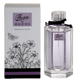 Gucci Flora by Gucci – Generous Violet Eau de Toilette für Damen 100 ml