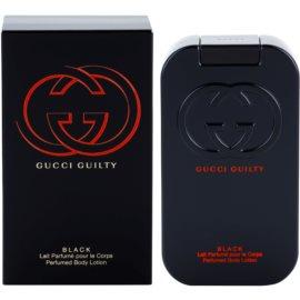 Gucci Guilty Black tělové mléko pro ženy 200 ml