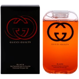 Gucci Guilty Black Pour Femme gel za prhanje za ženske 200 ml