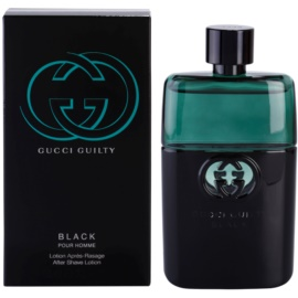 Gucci Guilty Black Pour Homme loción after shave para hombre 90 ml