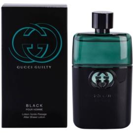 Gucci Guilty Black Pour Homme voda po holení pro muže 90 ml