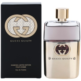 Gucci Guilty Pour Homme Diamond Eau de Toilette für Herren 90 ml