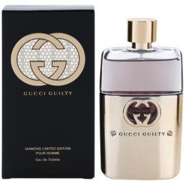 Gucci Guilty Pour Homme Diamond Eau de Toilette para homens 90 ml