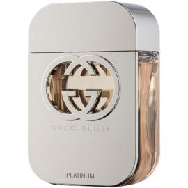 Gucci Guilty Platinum Eau de Toilette para mulheres 75 ml