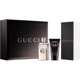 Gucci Guilty Pour Homme подарунковий набір VІІІ  Туалетна вода 50 ml + Гель для душу 50 ml
