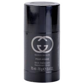 Gucci Guilty Pour Homme stift dezodor férfiaknak 75 ml (unboxed)