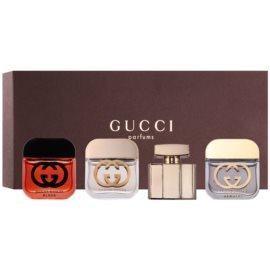 Gucci Mini подарунковий набір ІІ  Туалетна вода 2 x 5 ml + Парфумована вода 2 x 5 ml