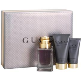 Gucci Made to Measure ajándékszett I. Eau de Toilette 90 ml + tusfürdő gél 50 ml + borotválkozás utáni balzsam 75 ml