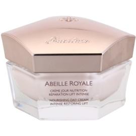 Guerlain Abeille Royale nährende Tagescreme Creme zur Wiederherstellung der Festigkeit der Haut  50 ml