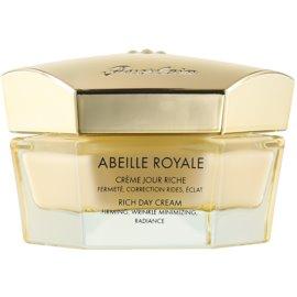 Guerlain Abeille Royale crema de día hidratante rejuvecenedora para pieles secas  50 ml