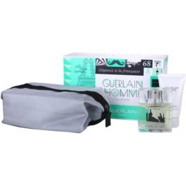 Guerlain Homme L´Eau Boisée подарунковий набір І  Туалетна вода 80 ml + Гель для душу 75 ml + Косметичка