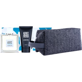 Guerlain L'Homme Ideal Cologne Gift Set IV.  Eau De Toilette 100 ml + Shower Gel 75 ml + Cosmetic Bag
