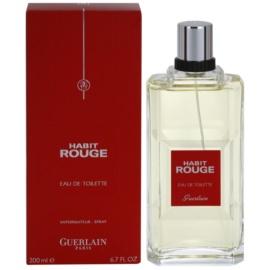 Guerlain Habit Rouge Eau de Toilette für Herren 200 ml