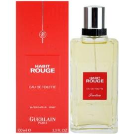Guerlain Habit Rouge toaletní voda pro muže 100 ml