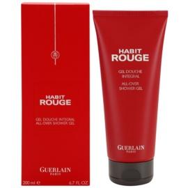 Guerlain Habit Rouge Duschgel Herren 200 ml